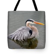 Great Blue Heron 3 Tote Bag