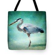 Great Blue Heron Tote Bag by Ellen Heaverlo