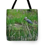 Great Blue Heron Series 5 Of 10 Tote Bag