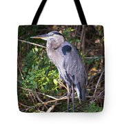 Great Blue Just Chillin' Tote Bag