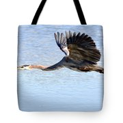 Great Blue Lift Off Series 4 Tote Bag