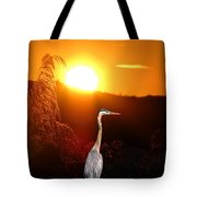 Great Blue Sunset Tote Bag