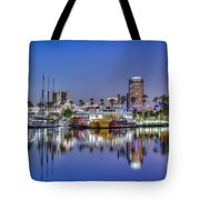 Great Blue Water Reflections Tote Bag