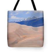 Great Colorado Sand Dunes Tote Bag