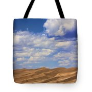 Great Colorado Sand Dunes Mixed View Tote Bag