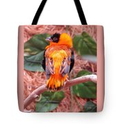 Great Colored Bird Tote Bag