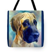 Great Dane Pup Tote Bag