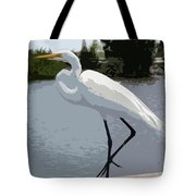 Great Egret    Ardea Alba Tote Bag