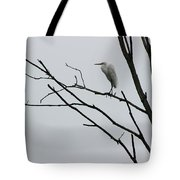 Great Egret On High Tote Bag