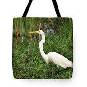 Great Egret Walking Tote Bag