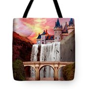 Great Falls Castle Tote Bag
