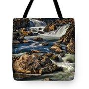 Great Falls Overlook #5 Tote Bag