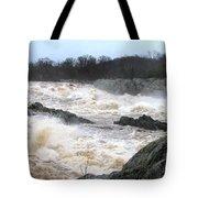 Great Falls Torrent Tote Bag