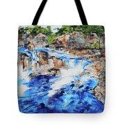Great Falls Waterfall 201826 Tote Bag