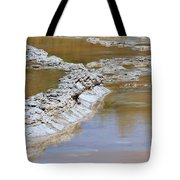 Great Fountain Geyser Firehole Lake Drive Tote Bag