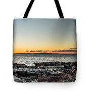Great Head Beach Sunrise Tote Bag