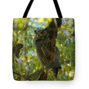 Great Horned Majesty Tote Bag