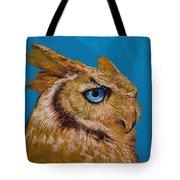 Gold Owl Tote Bag