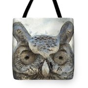 Great Horned Owl Pencil Tote Bag