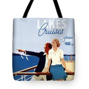 Great Lakes Cruises - Canadian Pacific - Retro Travel Poster - Vintage Poster Tote Bag