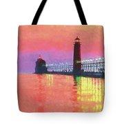 Great Lakes Light Tote Bag