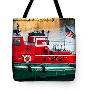 Great Lakes Towing Tug Florida Tote Bag
