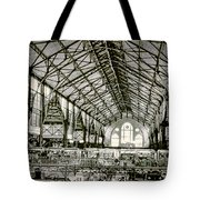 Great Market Hall Tote Bag