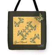 Great Nawab Butterfly Wheel Tote Bag