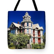 Great Old House Tote Bag