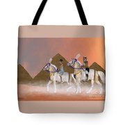 Great Pyramids And Nobility Tote Bag