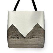 Great Pyramids Tote Bag