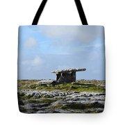 Great Rock Poulnabrone Portal Tomb Tote Bag