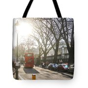 Great Russell St. In The Afternoon Tote Bag