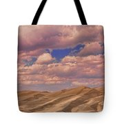 Great Sand Dunes And Great Clouds Tote Bag