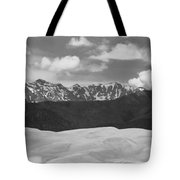 Great Sand Dunes Panorama 1 Bw Tote Bag by James BO  Insogna