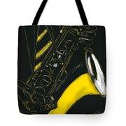Great Sax Tote Bag