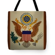 Great Seal Of The United States Of America Tote Bag