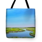 Great Sippewisset Marsh Tote Bag