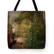 Great Smokey Mountain Railroad Tote Bag