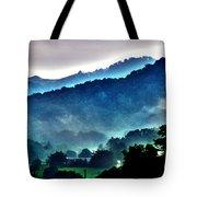 Great Smokey Mountains Tote Bag by Susanne Van Hulst