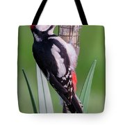 Great Spotted Woodpecker 1  Tote Bag