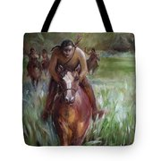 Great Valley Run Tote Bag