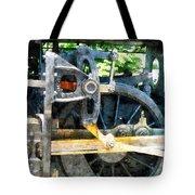 Great Western 90 Wheel Closeup Tote Bag