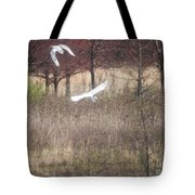 Great White Egret - 3 Tote Bag