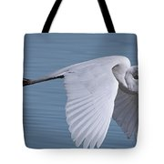 Great White Flight Tote Bag