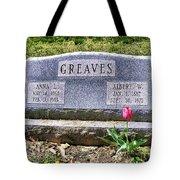 Greaves Tote Bag