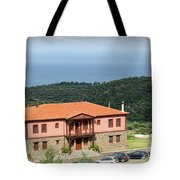 Greece Summer Vacation Landscape Tote Bag