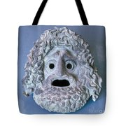 Greece: Theatrical Mask Tote Bag