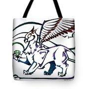 Greedy Gryphon Tote Bag