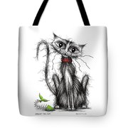 Greedy The Cat Tote Bag